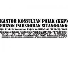 KKP  FRIZON PARSAORAN SITANGGANG & REKAN